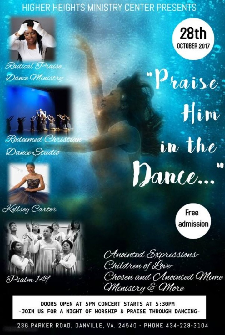 `Praise Him in the Dance...`