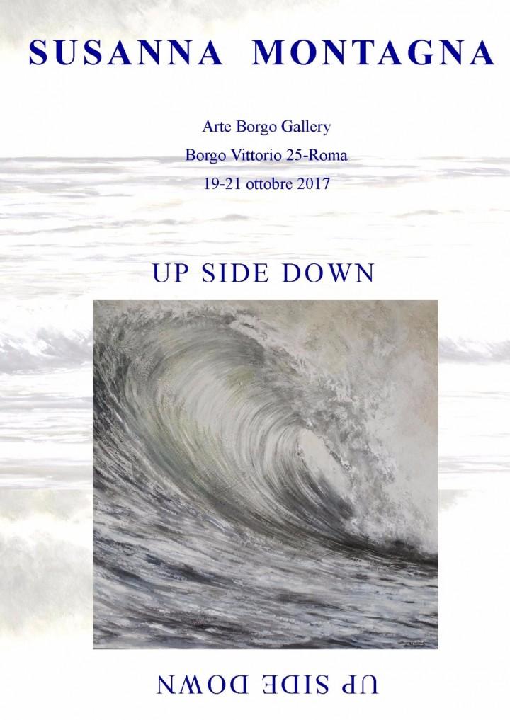 UP SIDE DOWN - Mostra Personale di Susanna Montagna