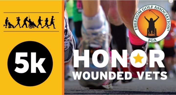 """Freedom Golf Association inaugural """"Honor Wounded Vets 5K Run/Walk"""" Rescheduled for October 29"""
