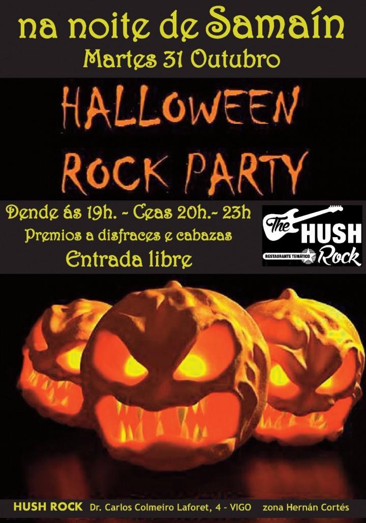 Samaín Halloween Rock Party