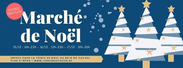 Marché de Noël au Bois du Cazier