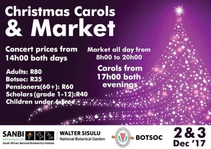 Christmas Carols & Market in Sisulu Garden