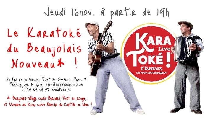 Karatoké Live !