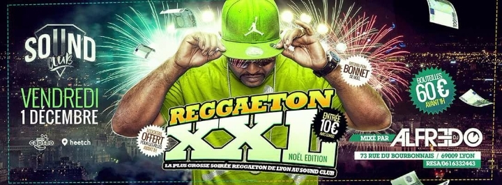Reggaeton XXL Ven-1 Décembre