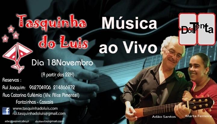 `DoiTenta` Tasquinha do luis 18-11-2017