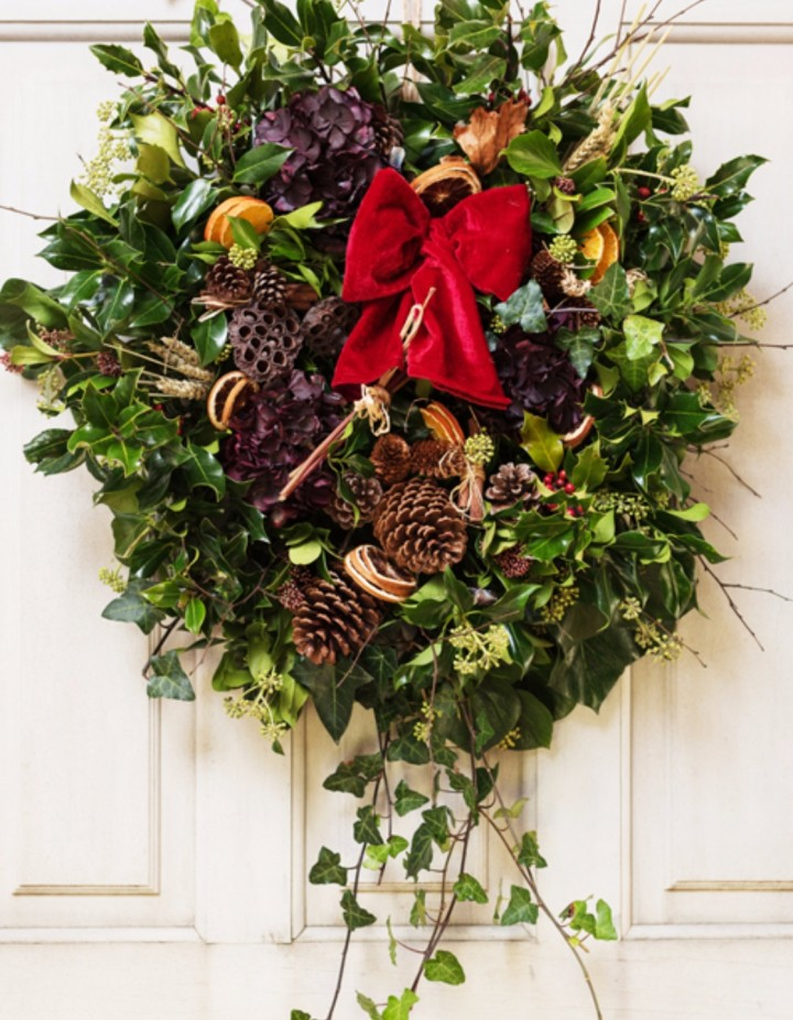 Christmas Wreath Making with Bumblebee Farm