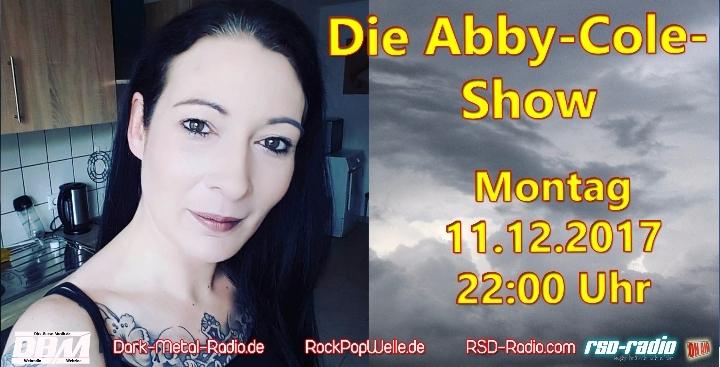 Die Abby-Cole-Show - Abby als Co-Moderatorin und Interviewgast zugleich !