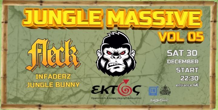 Jungle Massive vol.5 with FLeCK