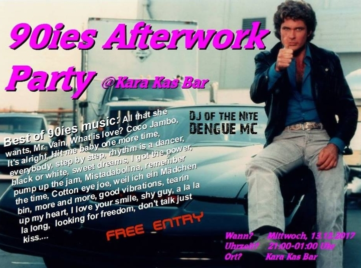 90ies Afterwork Party