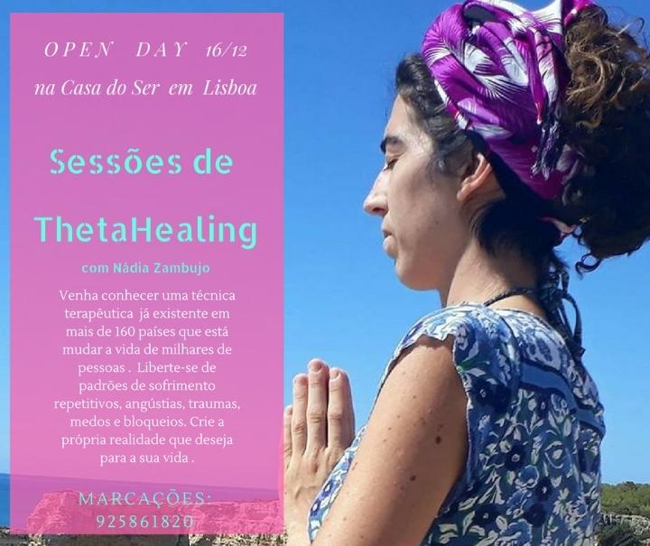 OPEN DAY Sessões de ThetaHealing