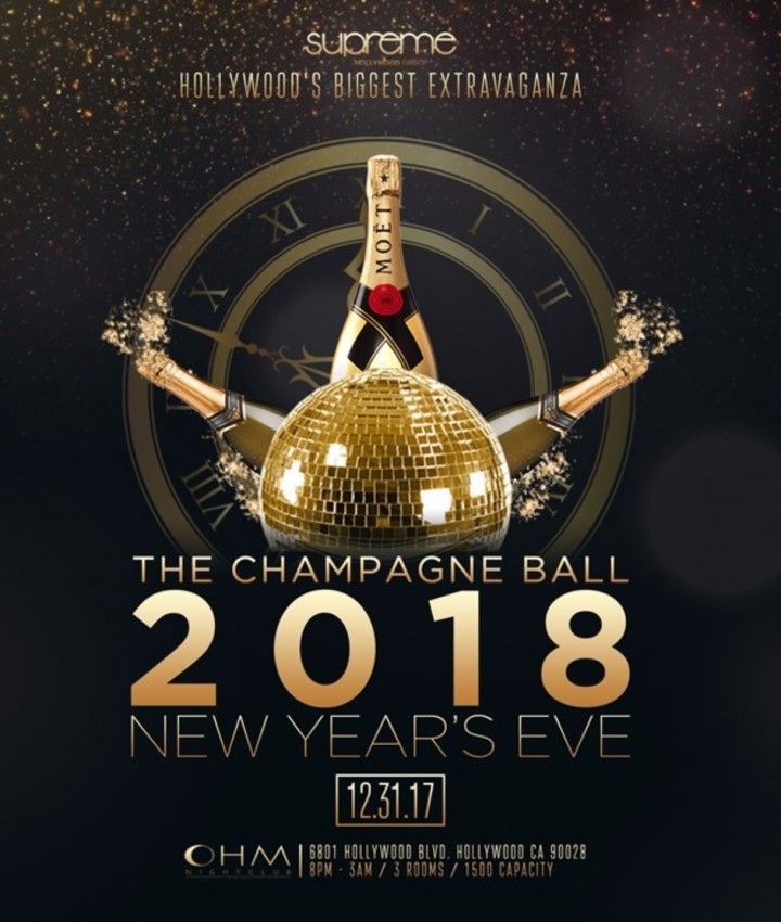 Classic NYE 2018 at OHM Nightclub