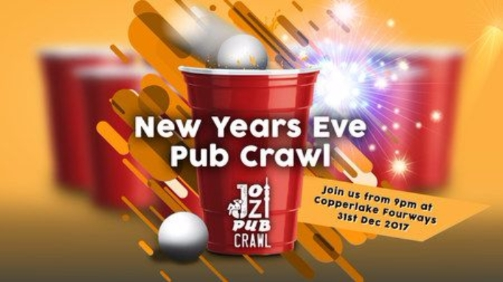 NYE DRINKING GAMES PUB CRAWL