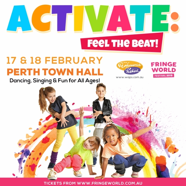 The WA Performance School presents... ACTIVATE: Feel the Beat!