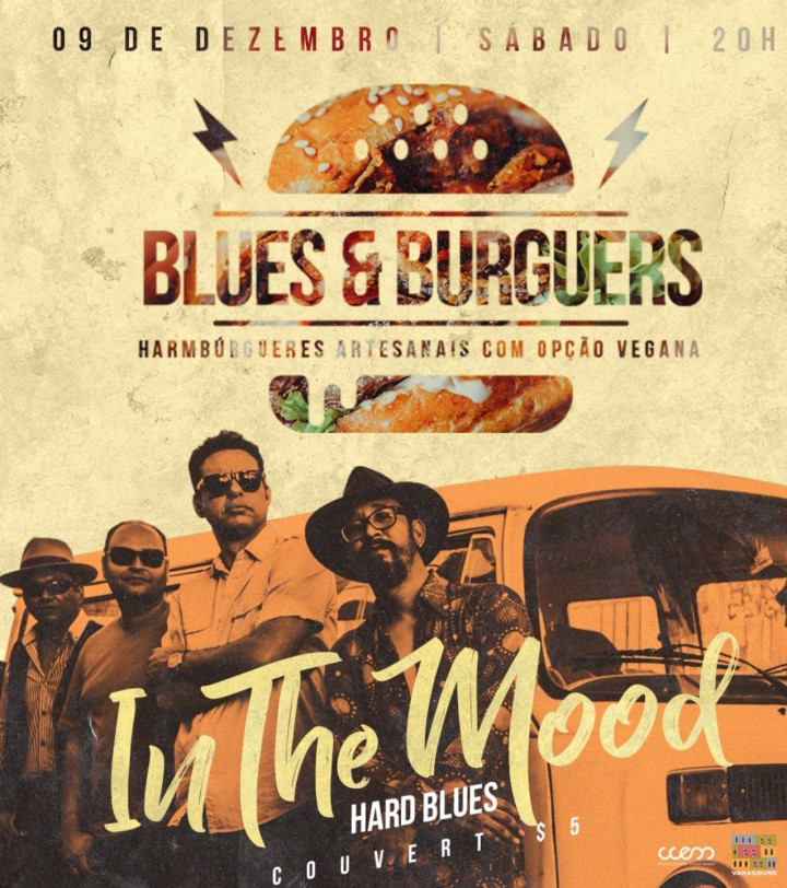 BLUES and BURGUERS com IN THE MOOD