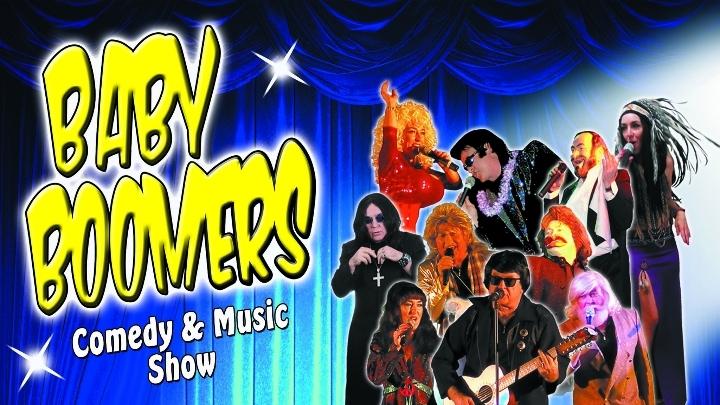 Baby Boomers Comedy & Music Show Laurieton - 13 JAN 2018