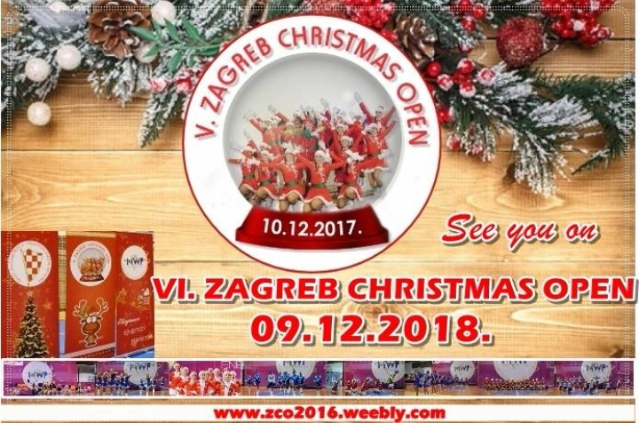 VI. ZAGREB CHRISTMAS OPEN/International Majorette Championship-09.12.2018.