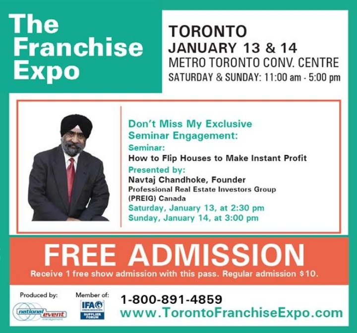 Real Estate Investment Expo/Forum in Toronto