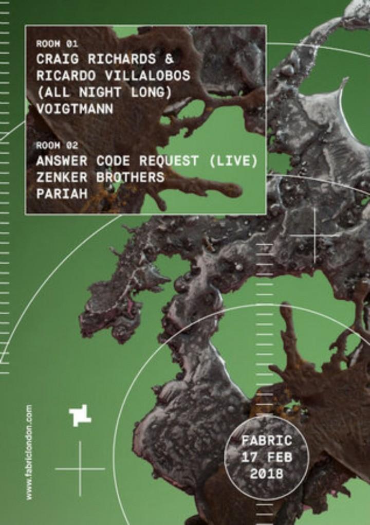 fabric: Craig Richards & Ricardo Villalobos (All Night Long), Pariah & More