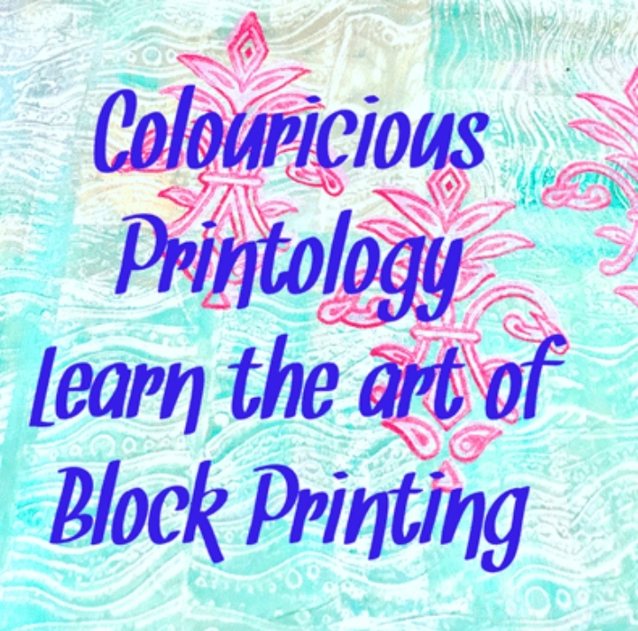 Colouricious Printology - block printing cour