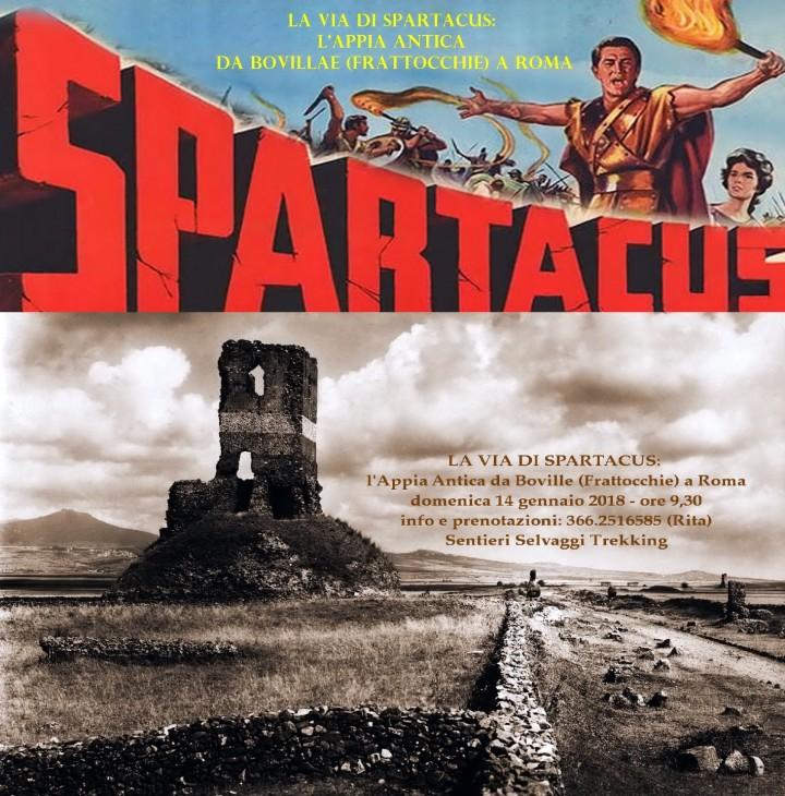 LA VIA DI SPARTACUS: l'Appia Antica da Boville (Frattocchie) a Roma