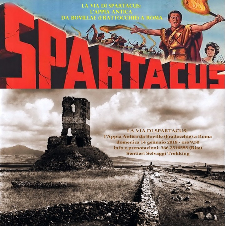 La Via di Spartacus: l'Appia Antica da Frattocchie a Roma