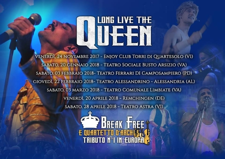 Break Free - Long Live the Queen - Queen Trib
