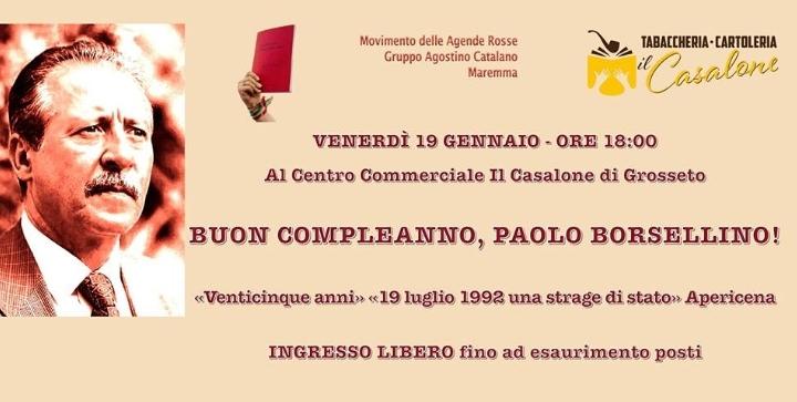 Buon compleanno, Paolo Borsellino!