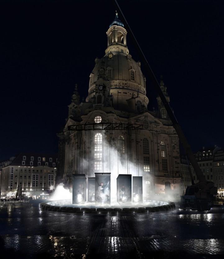 Kami Dresden - Medien-Ikonen in Tränengas