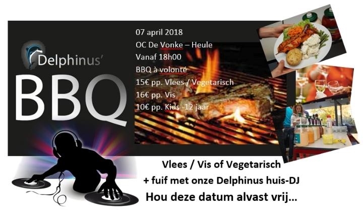 7 april 2018 - Duikschool Delphinus' Vierde BBQ à Volonté
