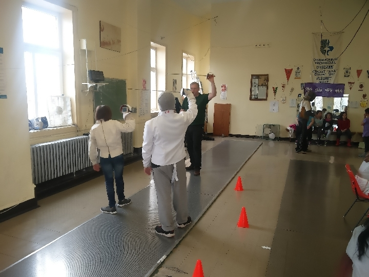 L'escrime pour tous! / Fencing for everyone!