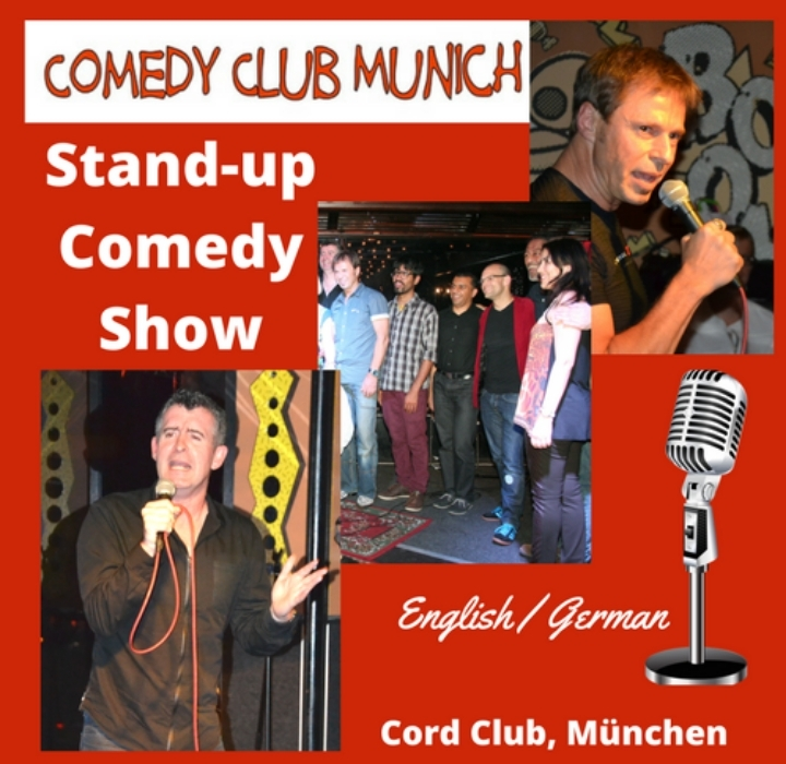Stand-up Comedy Show - English/German - Comedy Club Munich