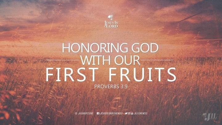 First Fruit Festival