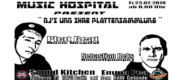 Music Hospital present ''Dj's und Ihre Platte