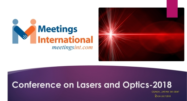 Conference on Lasers and Optics-2018