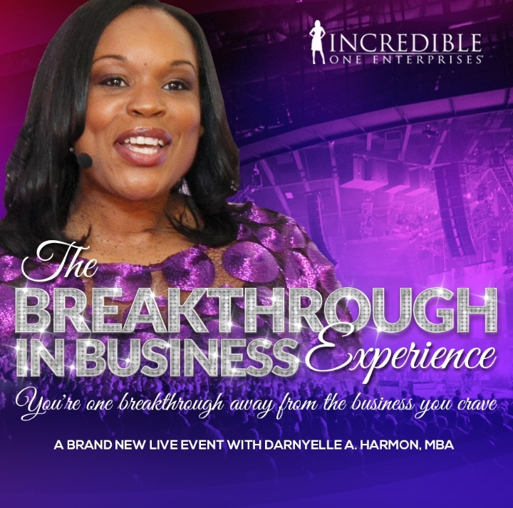 Breakthrough in Business Event