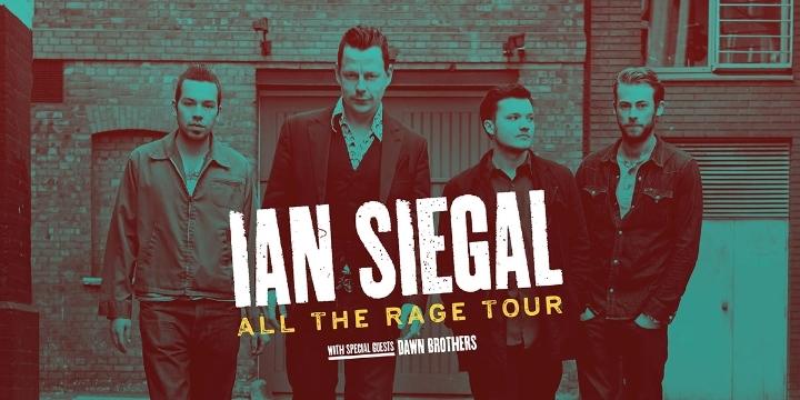 Ian Siegal Band in Derby