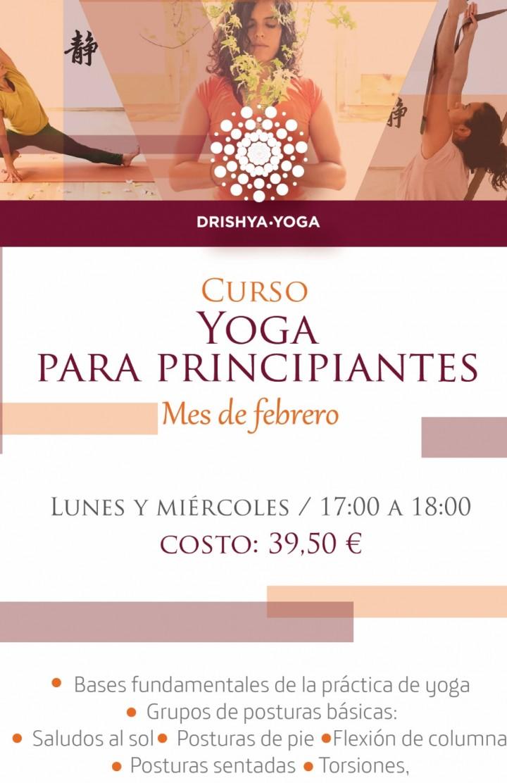 Curso Iniciación al Yoga  8 sesiones - 5 FEB 2018 805b7d60dd77