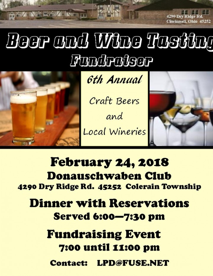 Beer and Wine Tasting