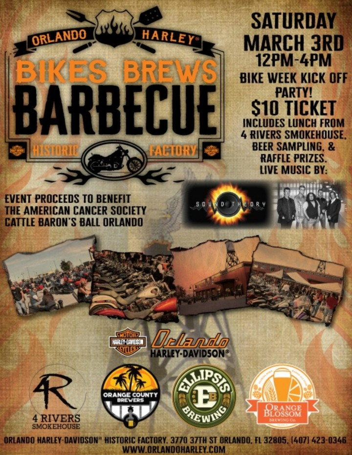 Bikers, Brews, BBQ - Steering Straight for a