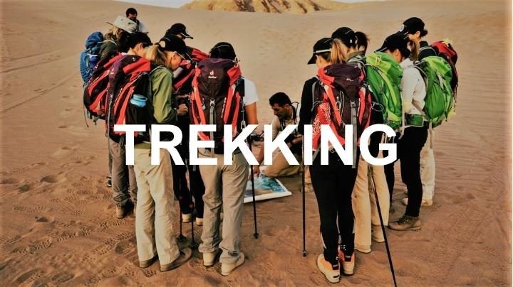Expedição Trekking no Deserto
