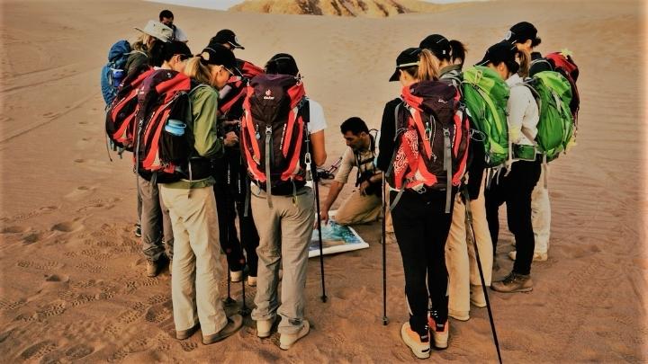 Trekking no Deserto