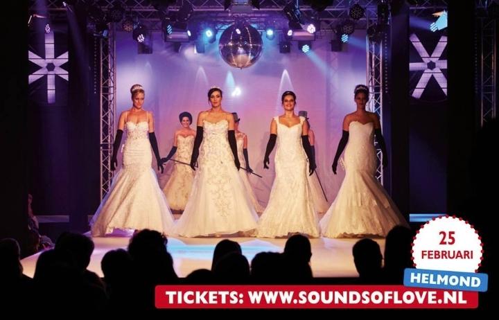 Trouwbeurs Helmond met shows Koonings Bruidsmode