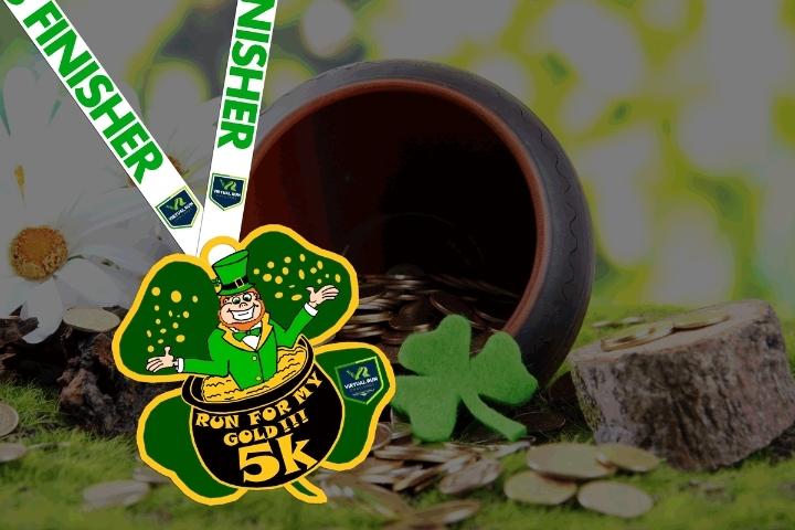 St. Patrick's Run for My Gold Virtual 5k Run/