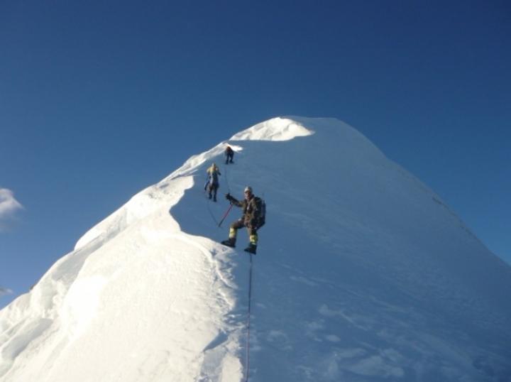 Everest Base Camp Combine Island peak climbin