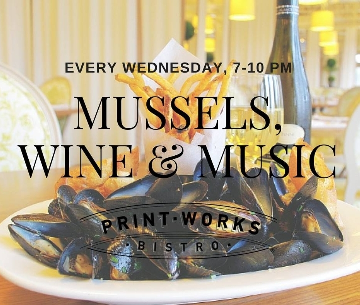 Mussels, Wine, and Music