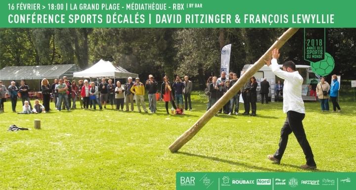 Conférence performée | Sports loufoques et décalés | David Ritzinger & François Lewyllie