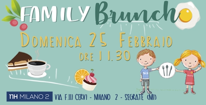 Family brunch by NH Milano 2