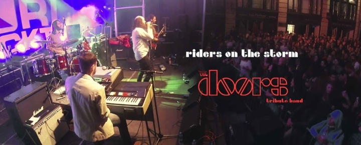 RIDERS ON THE STORM THE DOORS TRIBUTE BAND, Venerdì 16  febbraio 2018, Blue Seagull Pub, Chiavari