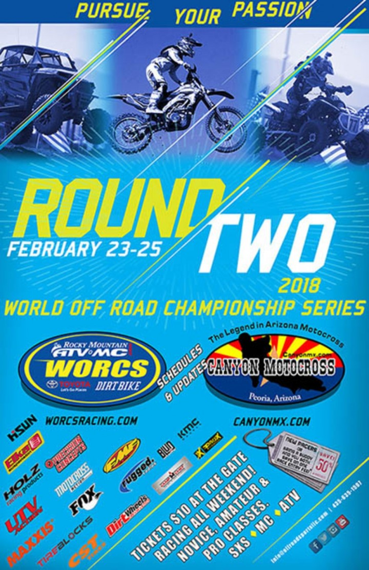 WORCS Round 2 at Canyon MX – Peoria, AZ – World Off Road Championship Series