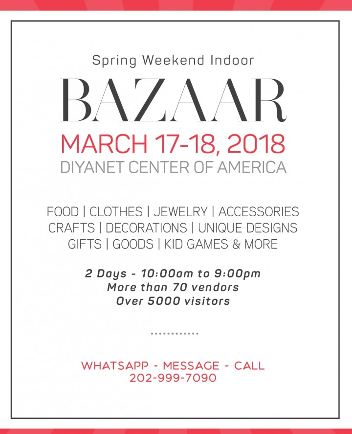 Spring Weekend Bazaar